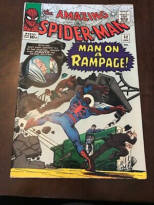 The Amazing Spider-man #32 Silver Age Marvel Comics