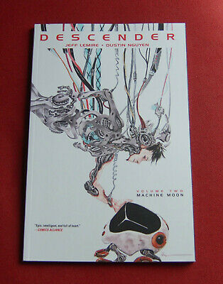 Descender - Volume 2 - Machine Moon - Jeff Lemire - Dustin Nguyen - IMAGE TPB
