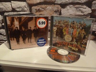 classic THE BEATLES : SGT. PEPPER'S LONELY HEARTS CLUB BAND & LIVE at the BBC CD