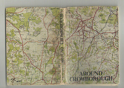 AROUND CROWBOROUGH by Ray Silver  Footpath Guide No. VII