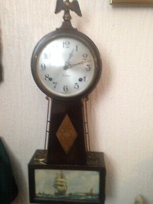 Antique Wall Clock Sessions Wall Clock Made In USA