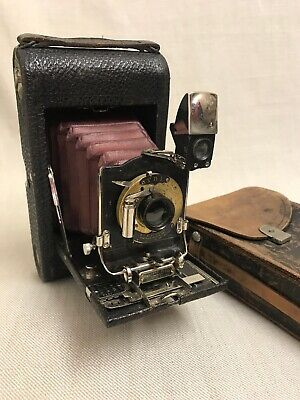 Eastman Kodak No.3-A Folding Pocket 122 roll film Camera, Model 21548-E