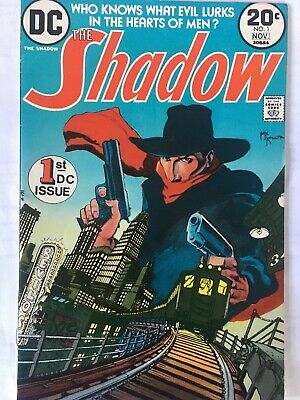The Shadow. No 1, First App. Shadow  Dc Comics 1973. Nm- 9.2.mike Kaluta. Scarce