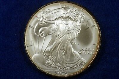 Estate Find 2005 - American Silver Eagle!!! #H7419