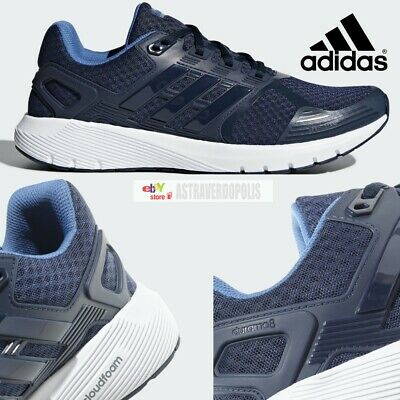 MEN'S ADIDAS® DURAMO 8 M CP8742 Navy Synthetic Running Shoes