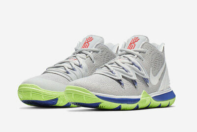 best service 1adcc 71a5d 2019 Nike Kyrie 5 Gs Ufo Wolf Grey white-Lime Blast Aq2456-099