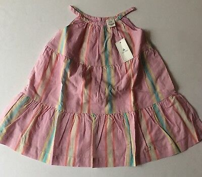 BABY GAP Girls Pink Summer Spring DRESS NEW NWT 18 24 Diaper Cover