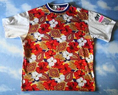 T-SHIRT vintage 80's BY AMERICAN  tg.M made in Italy