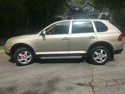 2004 Porsche Cayenne Sand Beige Smooth Leather 2004 Porsche Cayenne Turbo 4.5l