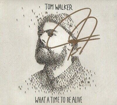 Tom Walker - What A Time To Be Alive [SIGNED CD Album]