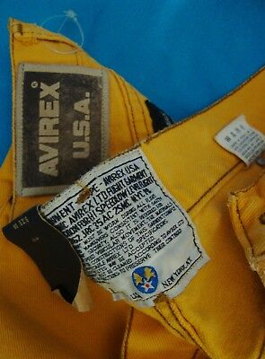 TROUSERS vintage '80s AVIREX Usa TG. 52-XL circa  made in Italy NEW!