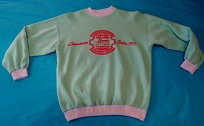 SWEATERSHIRT vintage 80's  CONVERSE  tg.M made in Italy  RARE
