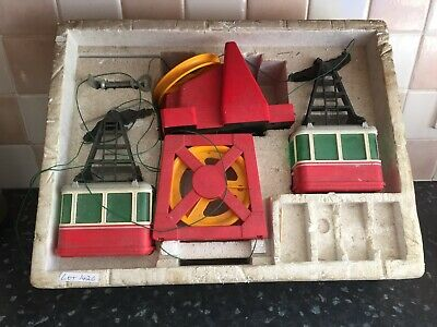Lehmann Riga vintage toy cable car set