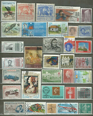 Worldwide 32 Different Used+Mnh Stamps Lot Collection (222)