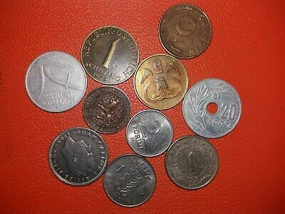 Lot Of World Mixed Vintage Coins Dating Since 1894!! Collection Attic Clearance
