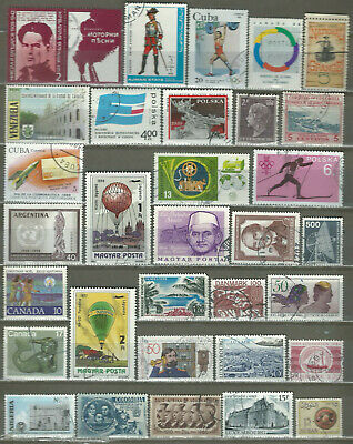 Worldwide 32 Different Used+Mnh Stamps Lot Collection (231)