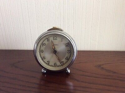 A Very Vintage Diehl Travel Alarm Clock