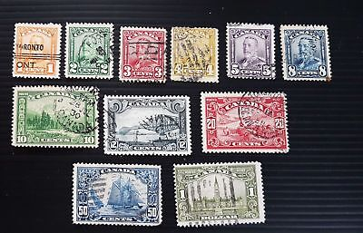 Scroll used  almost PERFECT set, very well centered stamps HCV ...
