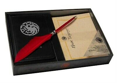 Game Thrones House Targaryen Desktop Stationery Set (with Pe by Insight Editions