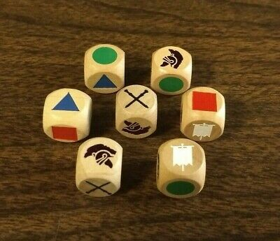 Commands & Colors Ancients - Wooden Dice Set GMT Valley Games - RARE OOP