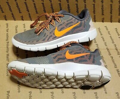 uk availability f036e 5cd21 NIKE FREE 5.0 Boys Girls Kids Youth Running Sneakers Shoes Size 1Y