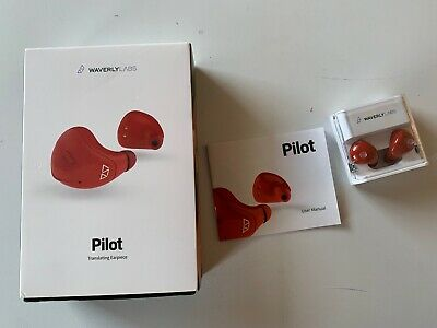 Waverly Labs Pilot Real-Time in-ear translating earpiece - ships from UK