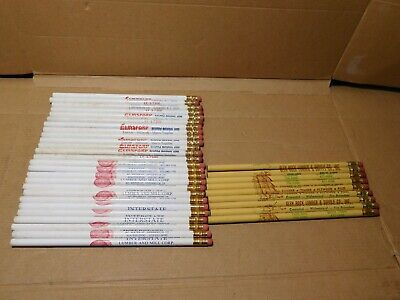 Mixed lot vintage advertising pencils