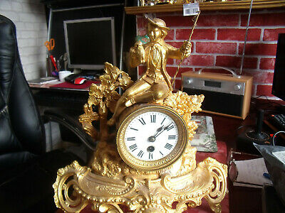 antique  clock  very old