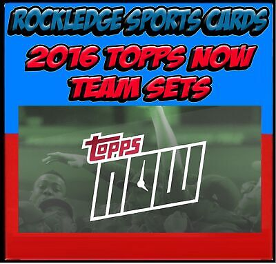 2016 Topps Now Red Sox 45 Card Team Set