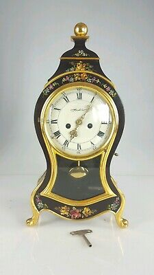 Large Vintage Neuchatel Bracket / Mantel Clock Swiss Made