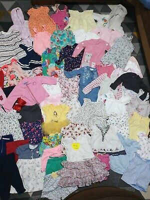 Huge Bundle Of Baby Girl Clothes 6-9months #30 H&M NEXT TED BAKER KENZO GEORGE