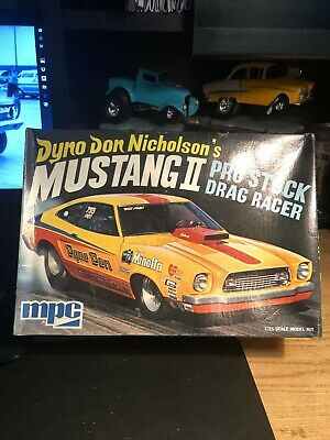 MPC Dyno Dons Pro Stock Mustang Two Mint Unbuilt