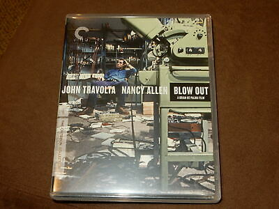 """""""blow Out"""" Travolta Criterion Collection Blu-Ray Special Edition Mint Condition"""