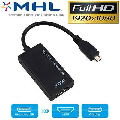 Universal MHL Micro USB to HDMI Cable 1080P HD TV Adapter for Android Tablets