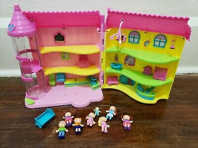 Lot Cabbage Patch Kids Lil Sprouts Babyland Playset