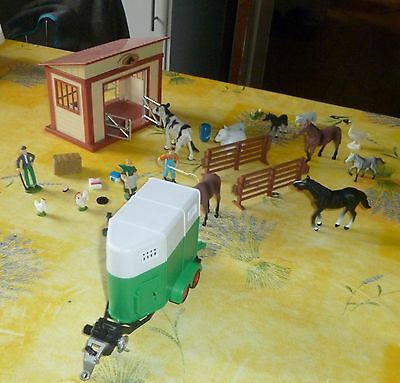 ferme miniature animaux divers