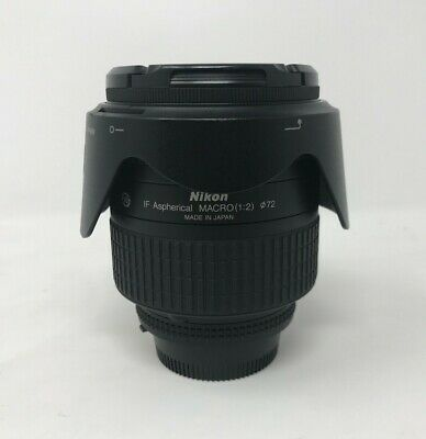 Nikon Nikkor AF 24-85mm f/2.8-4D IF Lens With Lens Hood