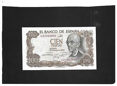 Spain Spanish 100 Pesetas Banknote 1970