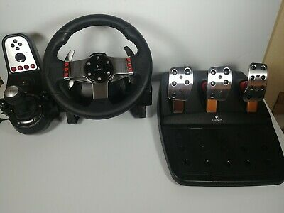 29de003c065 Logitech G27 Racing Wheel, Shifter, And Pedals (Very Good Condition) Read!