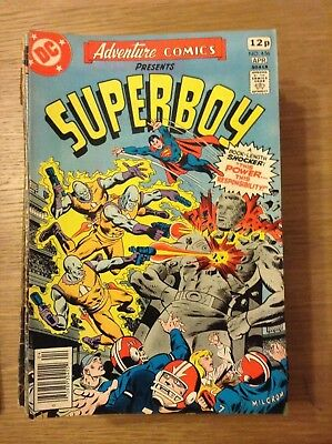 Adventure Comics (Superboy) issue 456 from April 1978 - discounted post