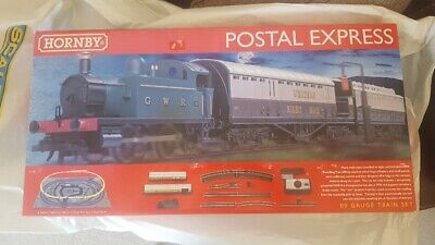 Hornby R1180 Postal Express 00 Train Set - Brand New