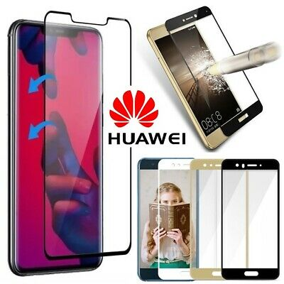 3D FULL COVER 9H Hardness Tempered Glass Screen Protector for All Huawei Models