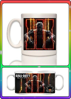 CALL OF DUTY BLACK OPS 4 IIII ZOMBIES MUG NEW GIFT BOXED 100/% OFFICIAL LICENSED