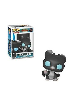 Preorder How To Train Your Dragon 3 Night Lights 3 Pop! Vinyl Figure #728
