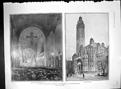 Old 1904 Roman Catholic Cathedral Westminster King Spain Portugal Oly 20th
