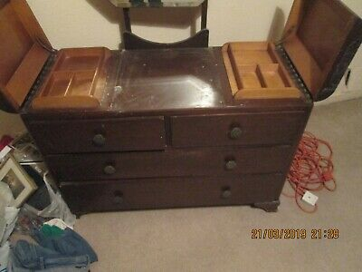 vintage wardrobe & dressing table set by Chancellor