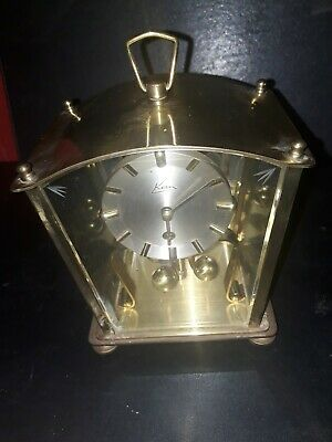 VINTAGE KERN 400 DAY ANNIVERSARY  MANTEL  CLOCK.Working