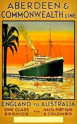 Print & Sell 200+ Beautiful 'Print Ready' Vintage Cruise Line Posters -FREE P&P