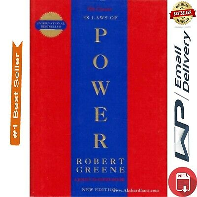 NEW The 48 Laws of Power By Robert Greene [ E- B00K ] PDF Fast delivery