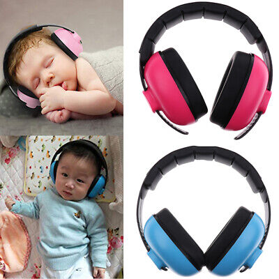 2pcs Baby Noise Reduction Headphones Kids Ear Muffs Loud Cancelling Hearing